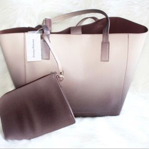 Tommy Bahama ombré tote & clutch